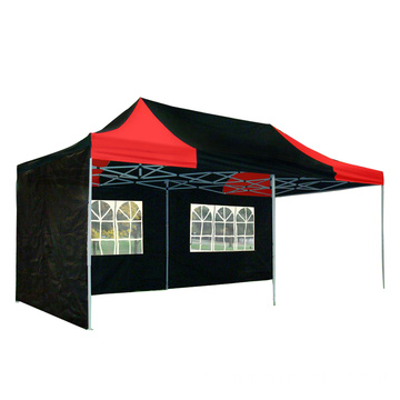 Tenda com toldo emendado Tenda comercial pop-up Gazebo