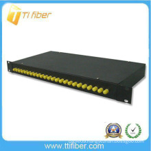 rack mount Sliding 24 Port fc optical Patch Panel
