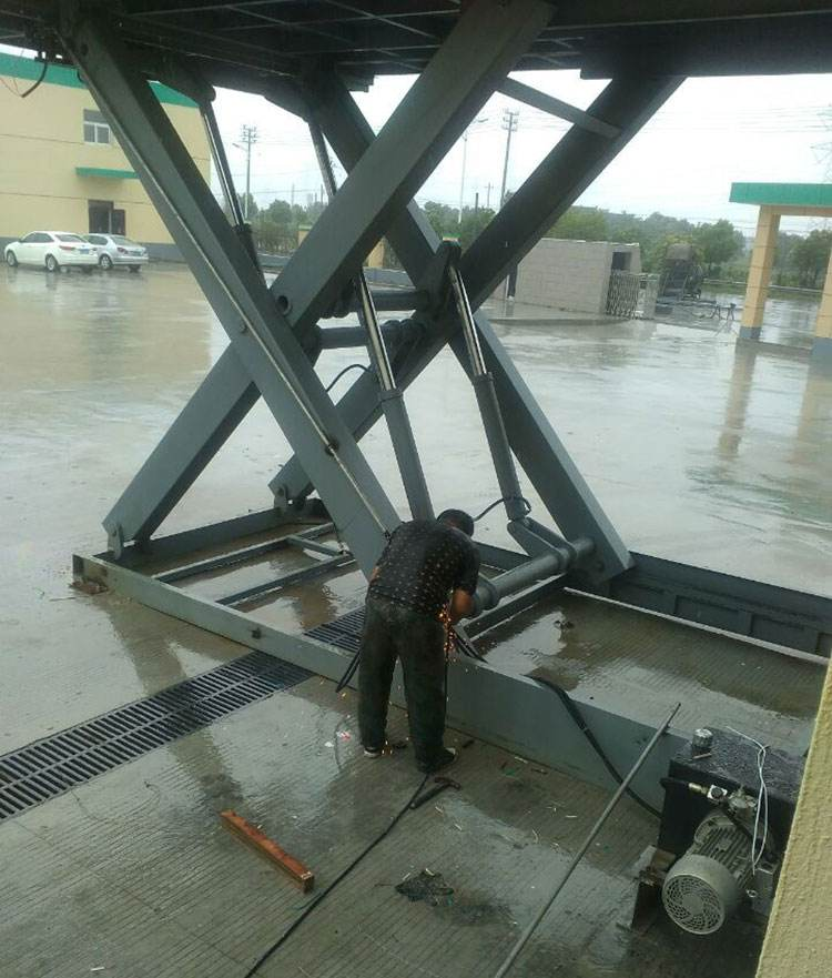 Hydraulic Fixed Dock Leveler