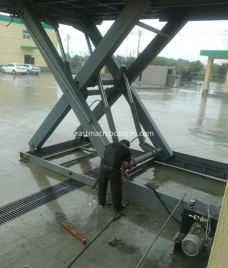 Hydraulic Fixed Dock Leveler