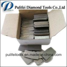 Segment pour le segment de grès de diamant de coupe de marbre de granit