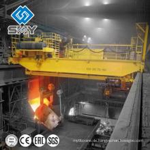 Heavy-Duty-Stahl-Fabrik mit 350 Tonnen Kran, 350 Tonnen Gießkran für Schöpflöffel heben