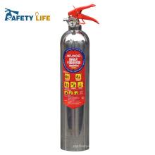 Boa qualidade de aço inoxidável fm200 extintor de incêndio