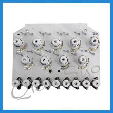 Peças de máquina de bordar de 9 agulhas Placa de tensão de rosca