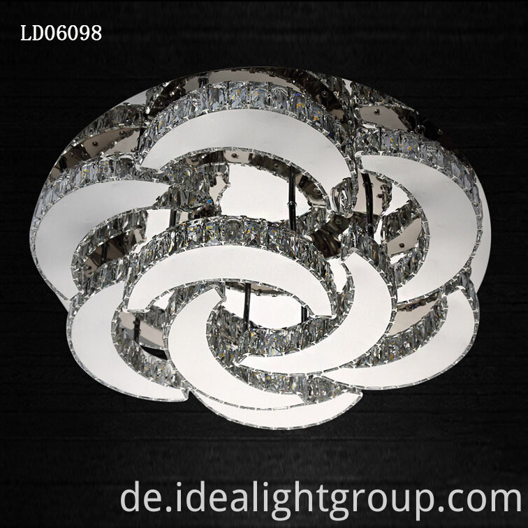 crystal light luxury chandeliers