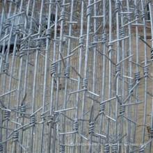 Longueur de fil barbelé par rouleau, fil barbelé prix par tonne, fil barbelé Fabrication Chine
