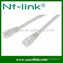 Utp / ftp cabo de remendo cat5e flat cable / Jumper