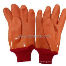Gant isolant en PVC à 3 couches Gants isolés Gant de travail de sécurité