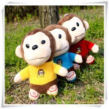 Monkey Plush Toys Pendant para la promoción