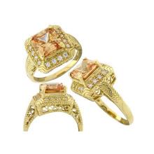 Antique anéis de noivado para casamento com o teste SGS