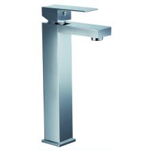 Chrome Plate Brass Bathroom Sink Mixer Faucet Tap