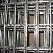Reforzamiento de hormigón armado de alambre de acero soldado revestimiento de malla metálica tejido de refuerzo