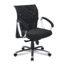 Escritório Ergonomic Mesh Clerk Hotel Swivel Arm Metal Chair (RFT-B23)