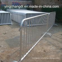 Wholesale Portable Galvanized Steel Crowd Control Barrier/Pedestrian Barrier