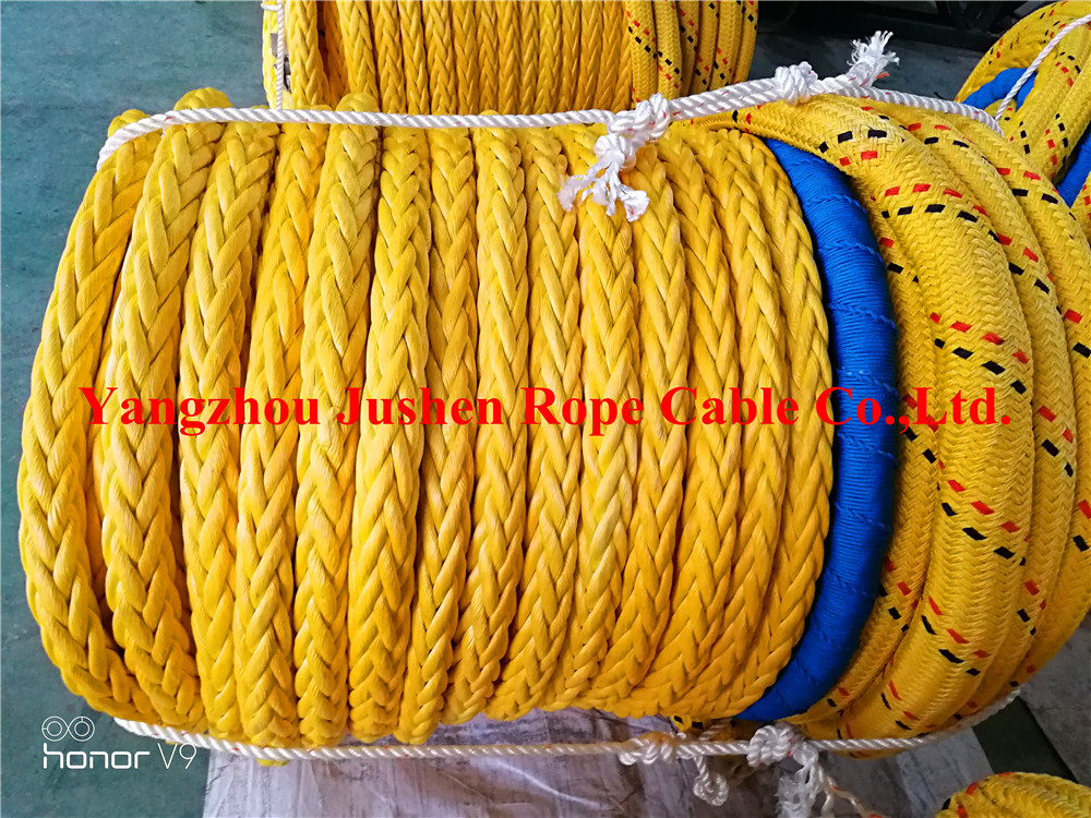 polyester JS-HPCFROPE double braided rope