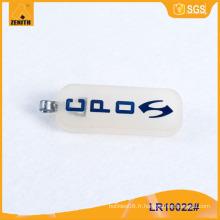 Fermeture à glissière en caoutchouc avec logo personnalisé LR10022