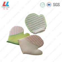 Loofah massaging luvas multipurpose item