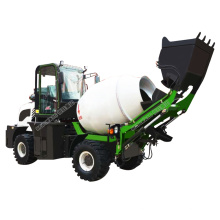 Automatic 1.2 cubic Self-loading Mixer Truck with feeding mixing system Hydraulic Cement Mixer Truck Price