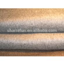 fabrik großhandel woolen 100% reine kaschmir mantel stoff (450g / qm)