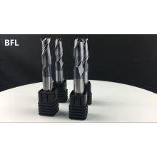 Herramienta de fresado cuadrado de flauta de carburo sólido 4 BFL, fresadora cuadrada para metal