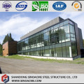 Light Steel Frame Villa with Glass Curtain Wall