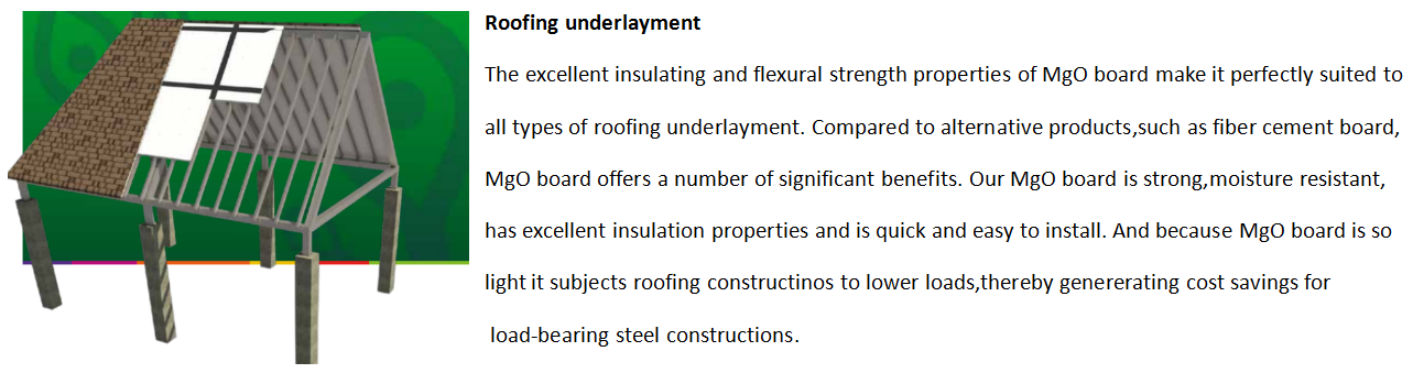 mgo board roofing