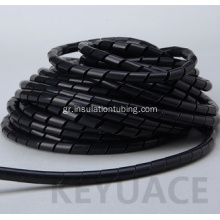 PE Plastic Electrical Wire Spiral Wrapping