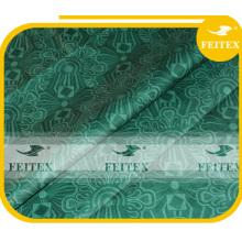 FEITEX African garment fabric bazin riche shadda guinea brocade damask dyed textiles hand made jacquard fabric