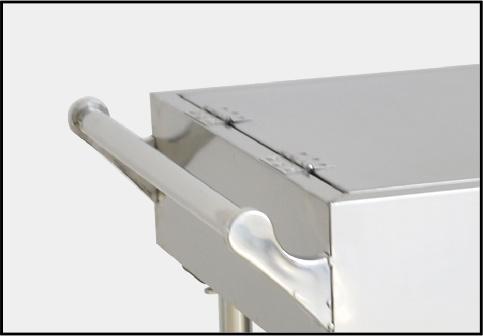 Push pull handrail