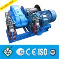 Tornos de cabrestante eléctrico certificado ISO 10 Torno de grúa de 10 toneladas