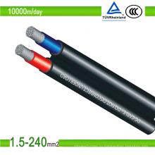 Соединительный кабель для солнечных батарей Mc3 Mc4, 4 мм2, черный или красный