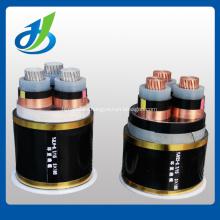 Cable de transmisión aéreo aislado PVC de la base 0.6 / 1KV