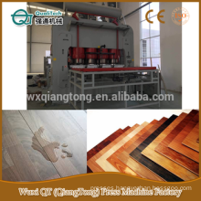 2800Tons HDF laminated parquet flooring press machine/ laminate flooring short cycle hot press