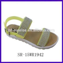 La melisa superior del diamante melisa la sandalia de la mujer de los zapatos del melissa de los zapatos