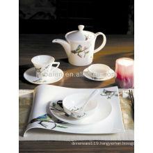A072 Green germany fine porcelain dinnerware set