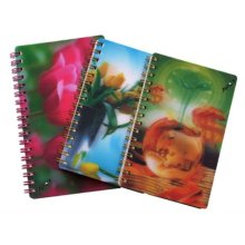 2015 New 3D Personalised Notebooks for Promoting