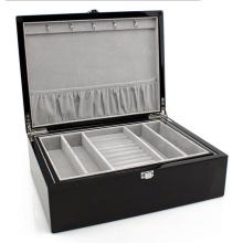 Эспрессо кожаный Коробка ювелирных изделий (НХ-А0750)