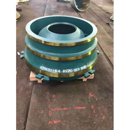 Nordberg Cone Crusher spare Parts Bowl Liner