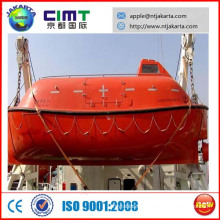 70P enclosed /open lifeboat with davit CCS BV