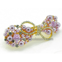 Pearl Beads Flower Fashion Charming Europe Popular Hair Clips