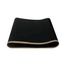 High strength non stick heat resistance black ptfe coating conveyor belt for food