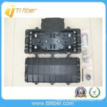 Caja de recubrimiento de empalme de fibra óptica impermeable en línea