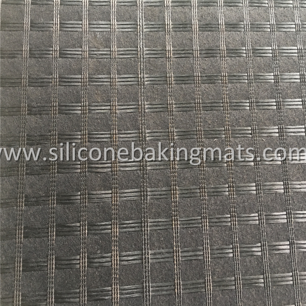 Bitument Coated Fiberglass Grid Geocomposite