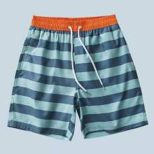 Men's Beach Shorts With Drawstring