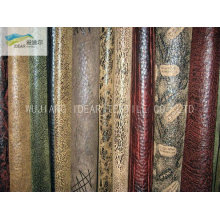 Printed Warp Micro Suede Fabric With PU For Home Textile