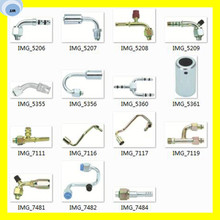 Customized Bus Air Condition Fitting Aluminum Pipe Fitting