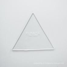 Gel de PU almohadillas adhesivas claras de muchos tamaños disponibles