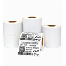 NX112  White Blank self-adhensive Thermal paper Custom size paper Sticker Printing Shipping Label For Carton