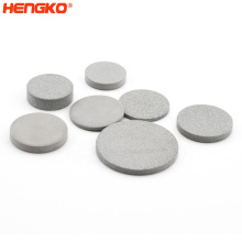 0.2um - 90 Microns Powder Microporous Sintered Stainless Steel  Filter Disc  316 L Sintered Filter Disc For Medical Chemical