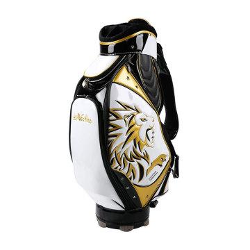 High Quality PU embroidered Men Golf Bag